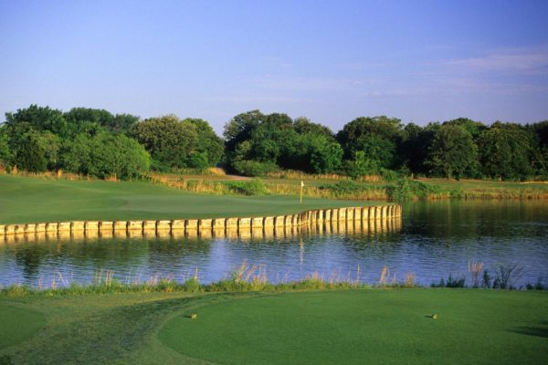 Tierra Verde Golf Club Hole 14 Arlington, TX